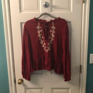 Tops - Gorgeous Red Blouse